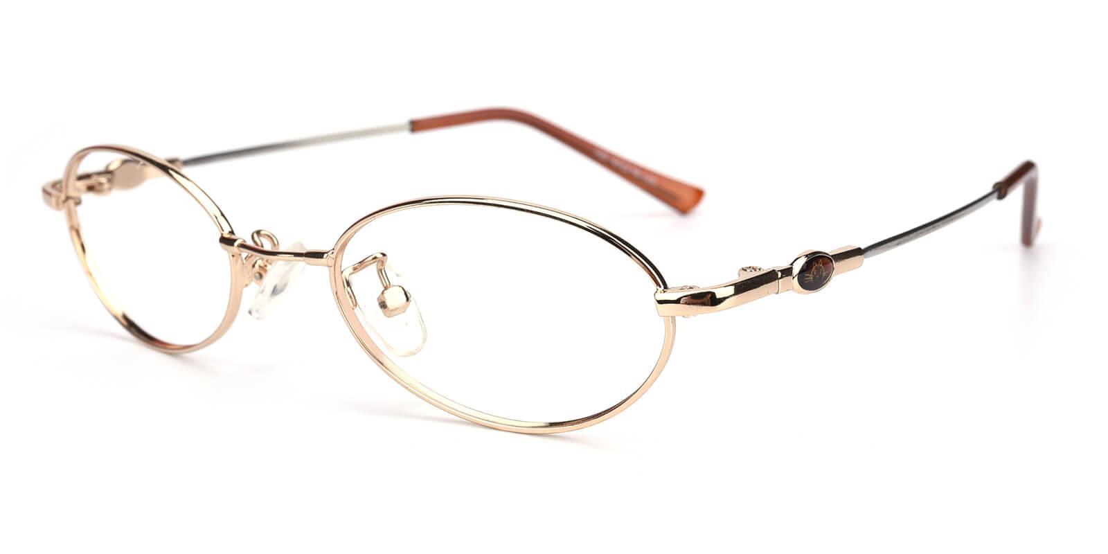 Mikestar-Gold-Oval-Titanium-Eyeglasses-additional1