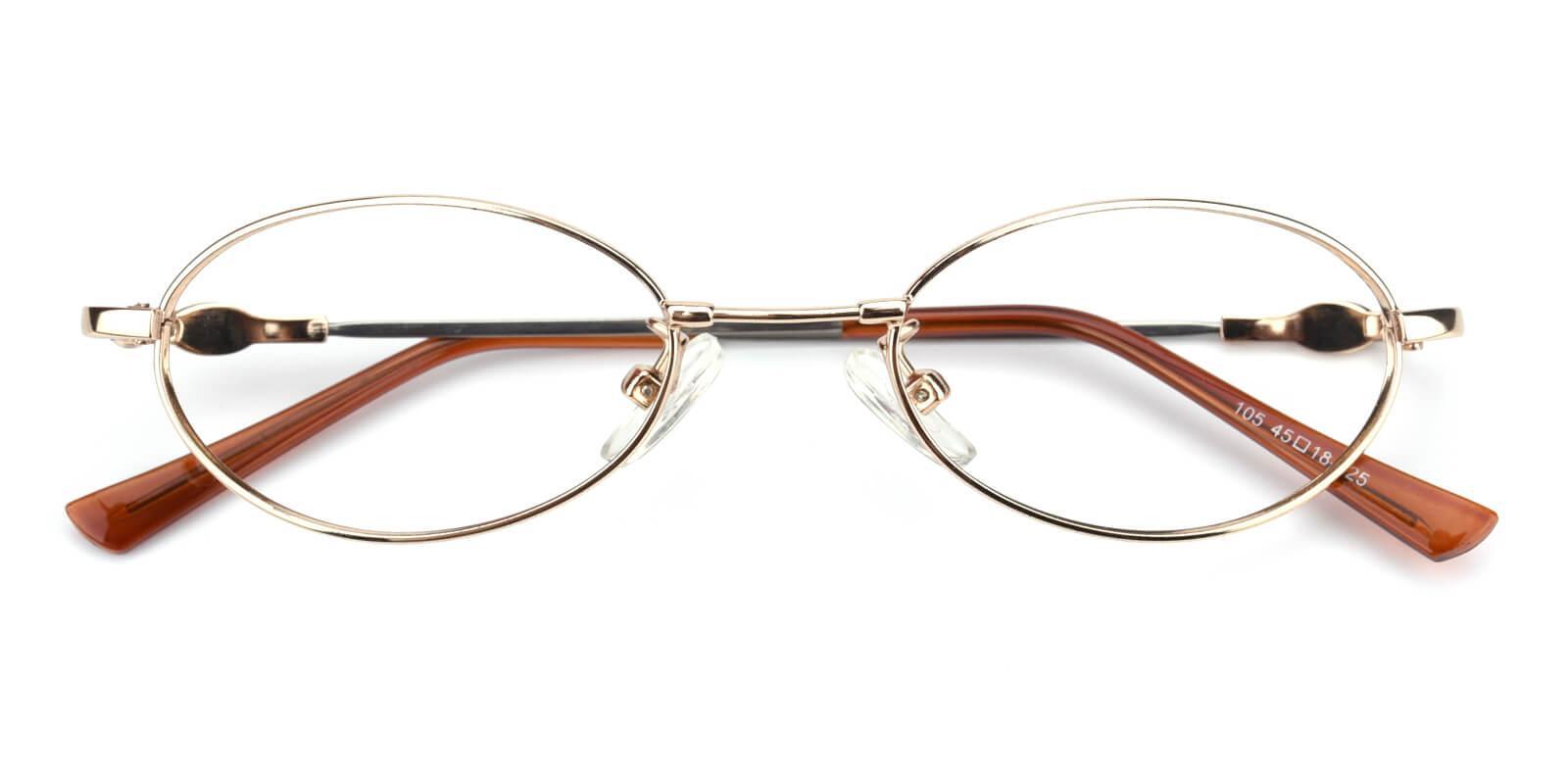 Mikestar-Gold-Oval-Titanium-Eyeglasses-detail