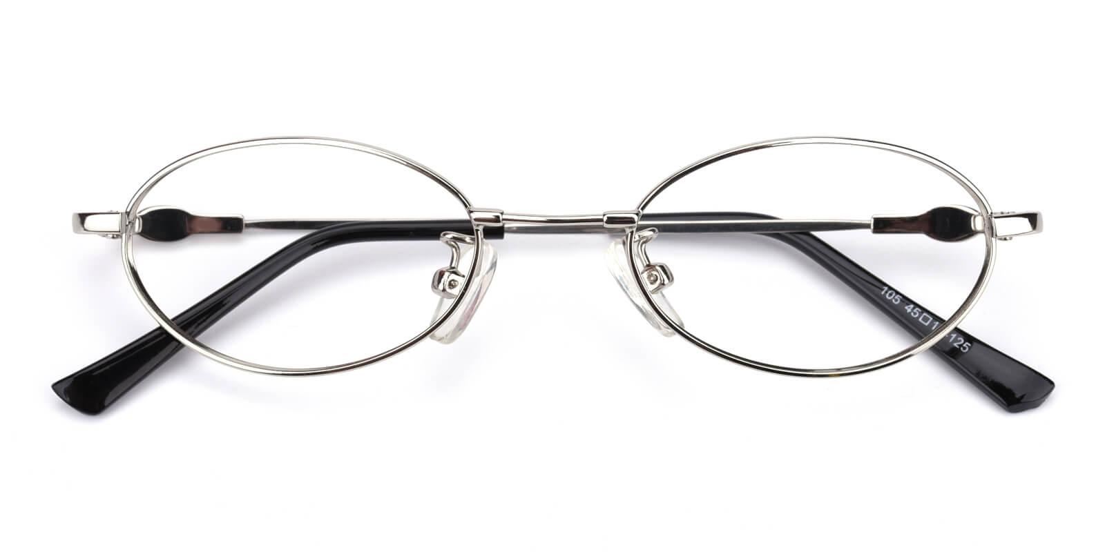 Mikestar-Silver-Oval-Titanium-Eyeglasses-detail