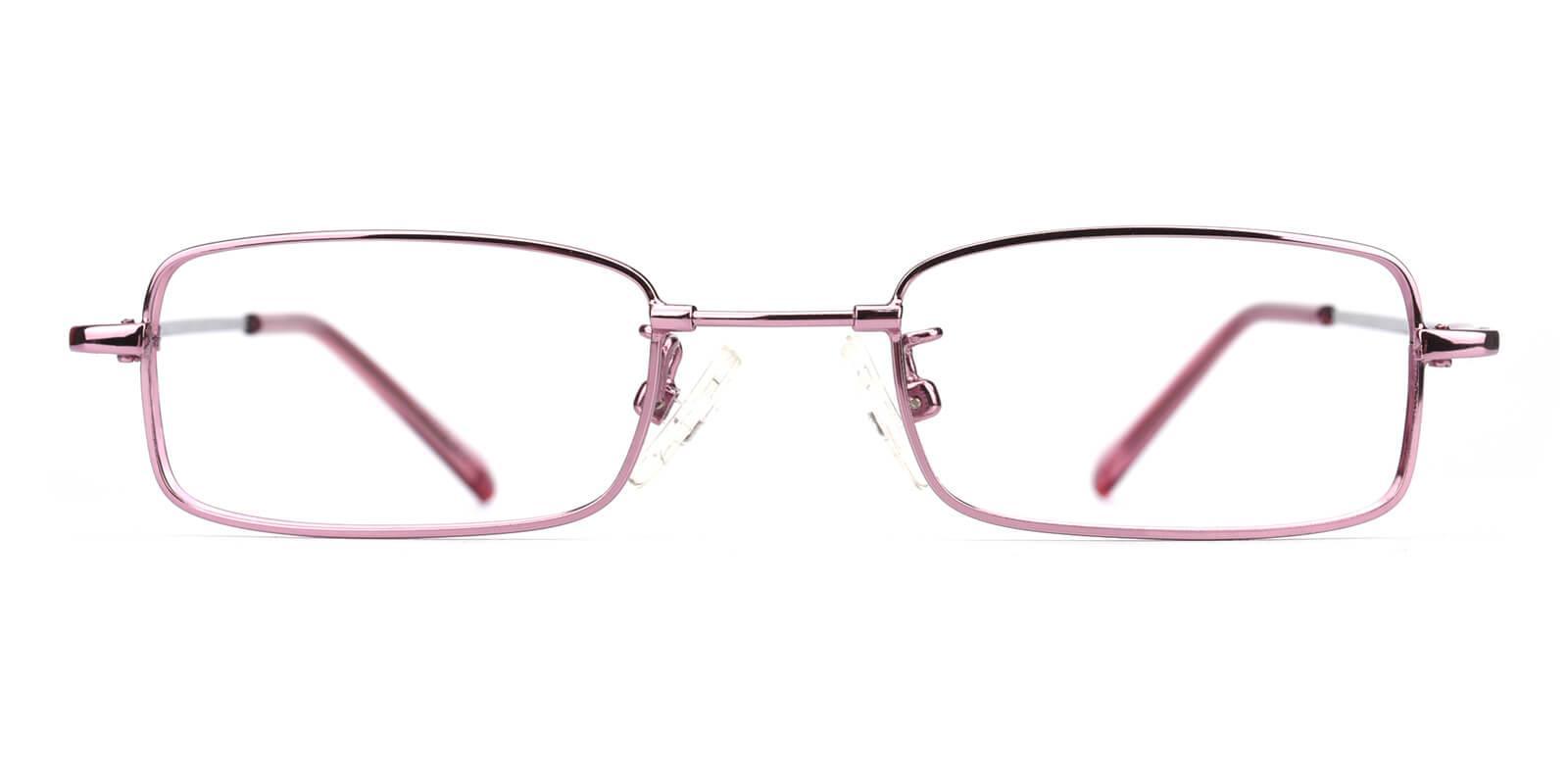 Lanscripe-Purple-Rectangle-Titanium-Eyeglasses-detail