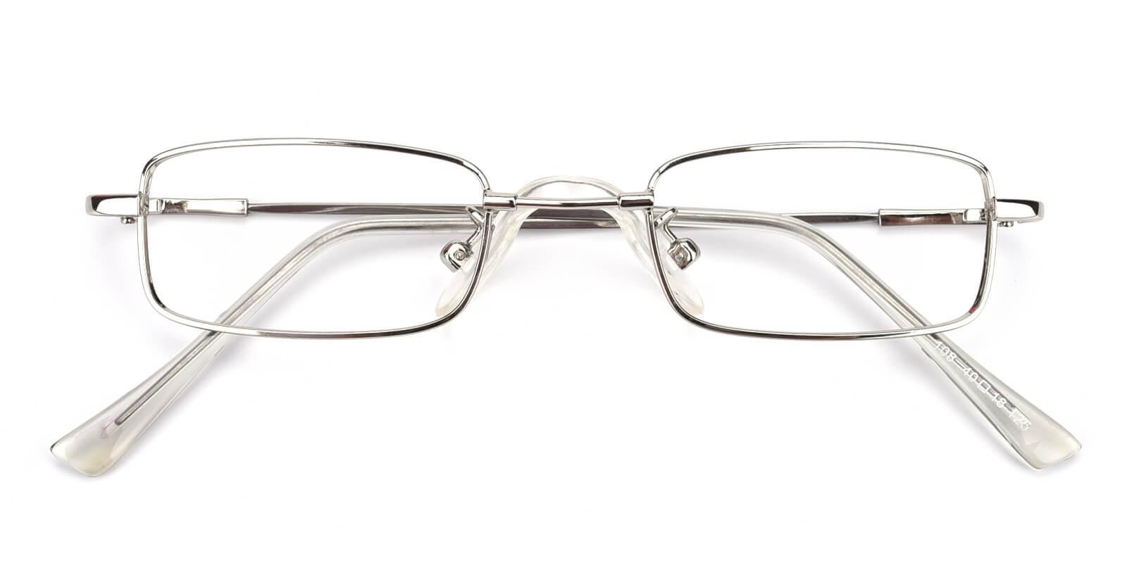 Lanscripe-Silver-Rectangle-Titanium-Eyeglasses-detail
