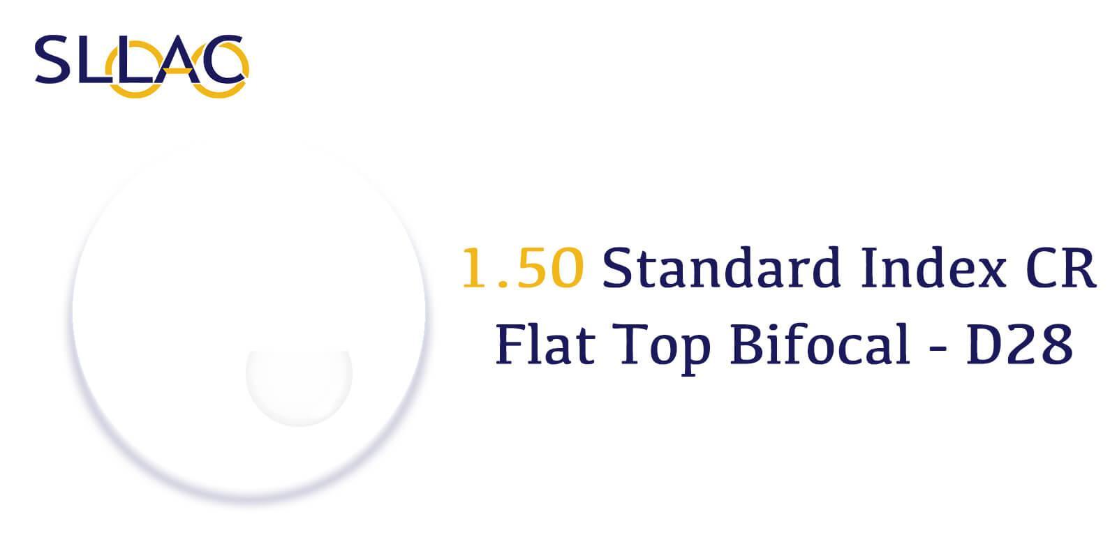 1.50 Standard Index Flat Top Bifocal With Line-Translucent---Eyeglasses-detail