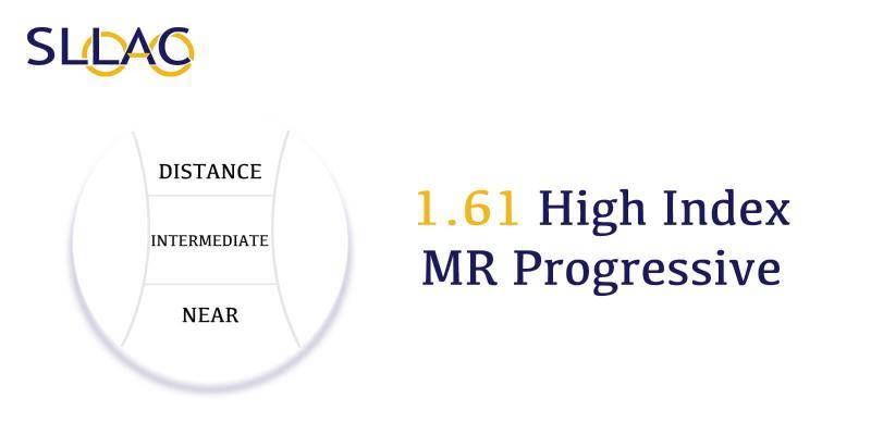1.61 Digital Free Form Progressive (No-line multi-focal)-Translucent-other