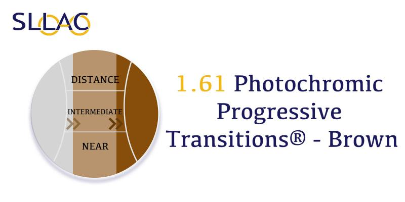1.61 Index Progressive Transitions - Gray-Brown-other