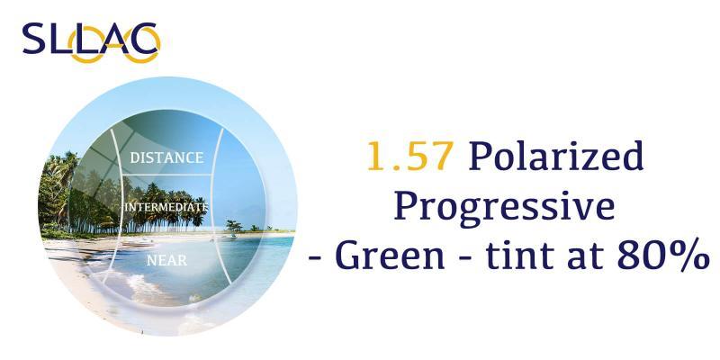 1.57 Polarized Digital Free Form Progressive - Brown-Green-other