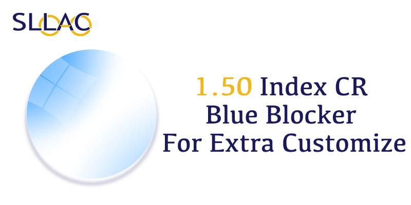 1.50 Standard Index CR+ Blue Blocker-Translucent-other