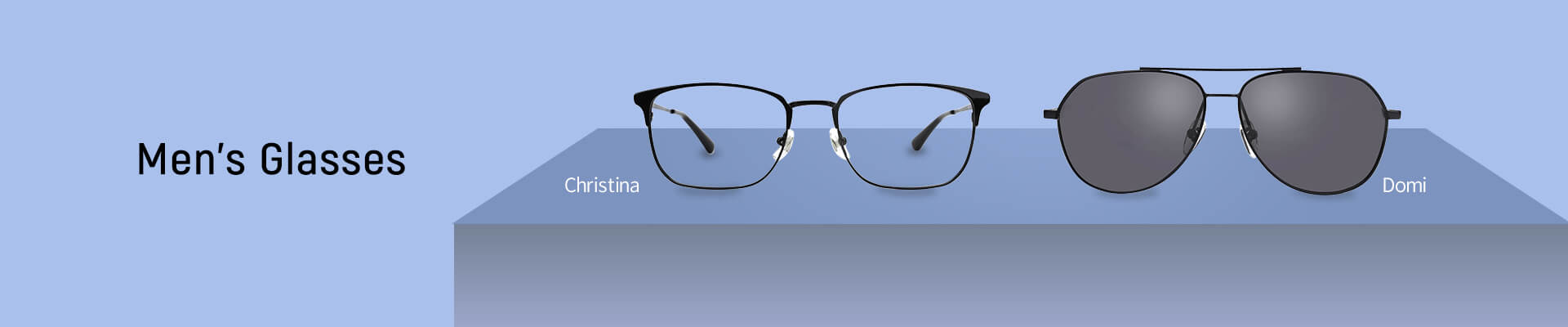 Men's glasses category