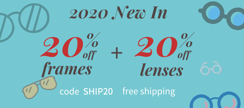 20% For NEW IN&Shipping for free category