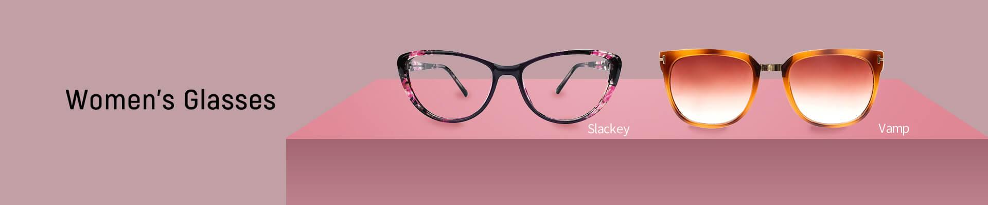 Women's glasses category