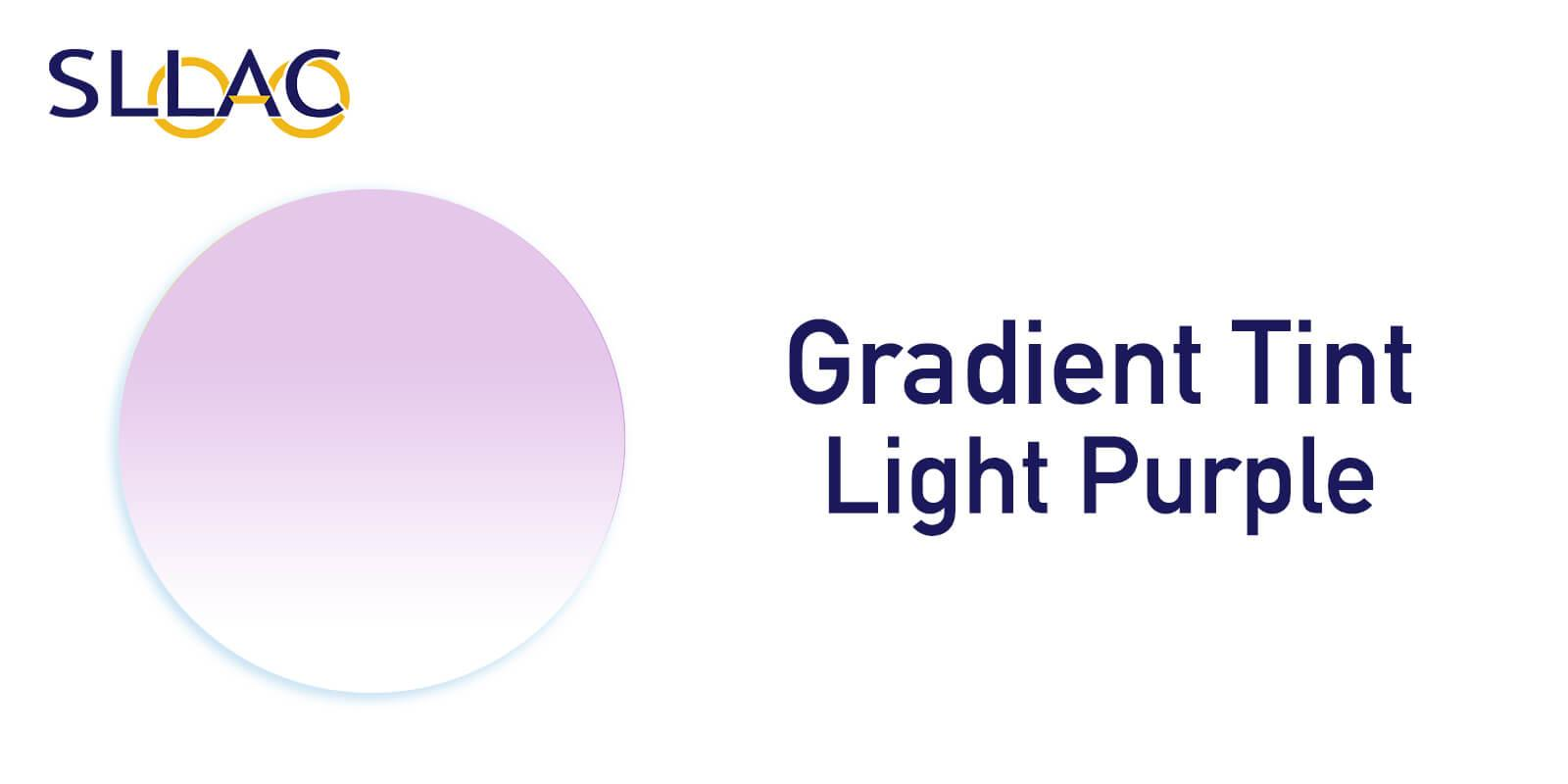 Gradient Lens Tint - Light (20%) Purple----Eyeglasses-detail