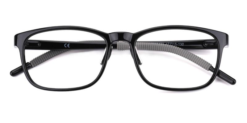 Dorsett-Black-Eyeglasses