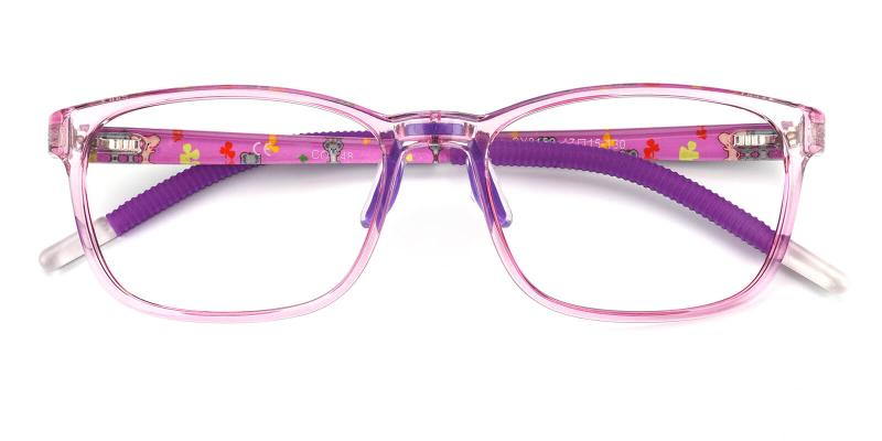 Dorsett-Purple-Eyeglasses / Lightweight / NosePads