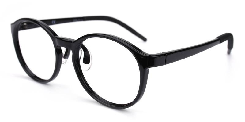 Chigor-Black-Eyeglasses