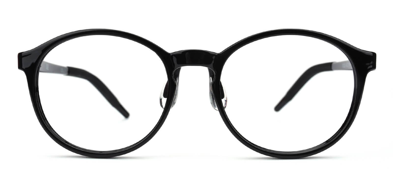 Chigor-Black-Round-TR-Eyeglasses-detail