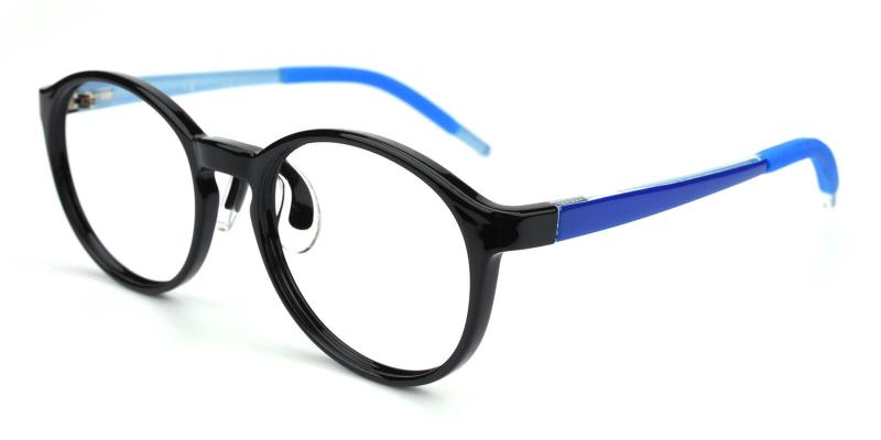 Chigor-Blue-Eyeglasses