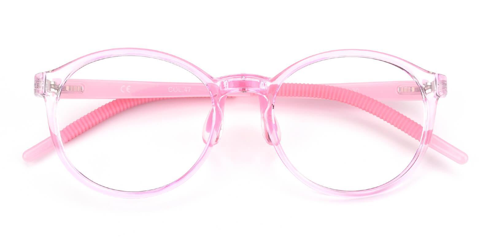 Chigor-Pink-Round-TR-Eyeglasses-detail