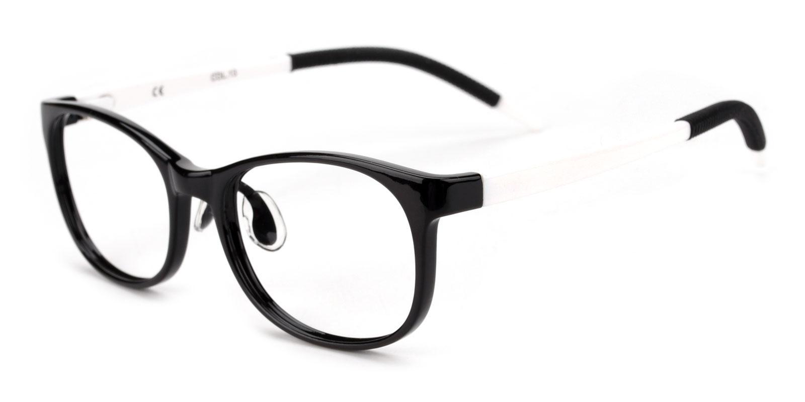 Levan-Black-Oval-TR-Eyeglasses-detail