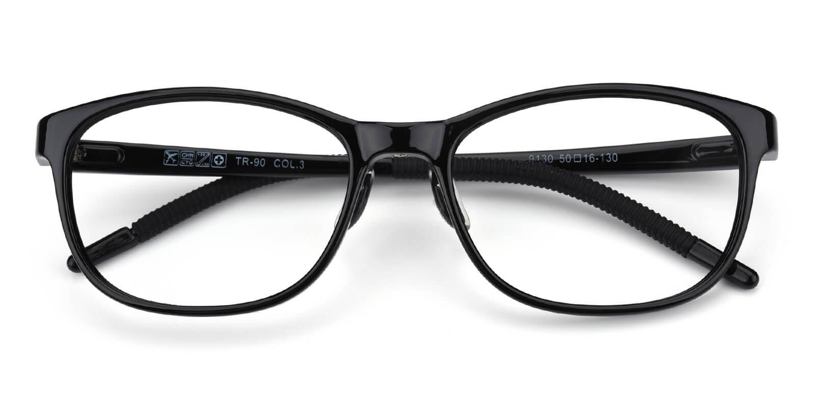 Lochlosa-Black-Rectangle-TR-Eyeglasses-detail