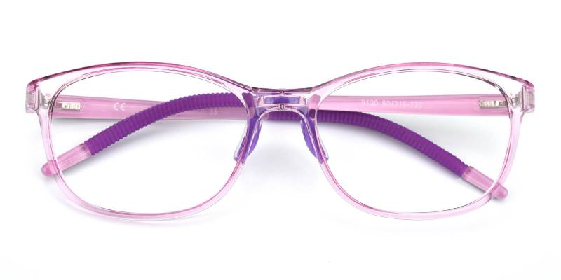 Lochlosa-Purple-Eyeglasses / Lightweight / NosePads