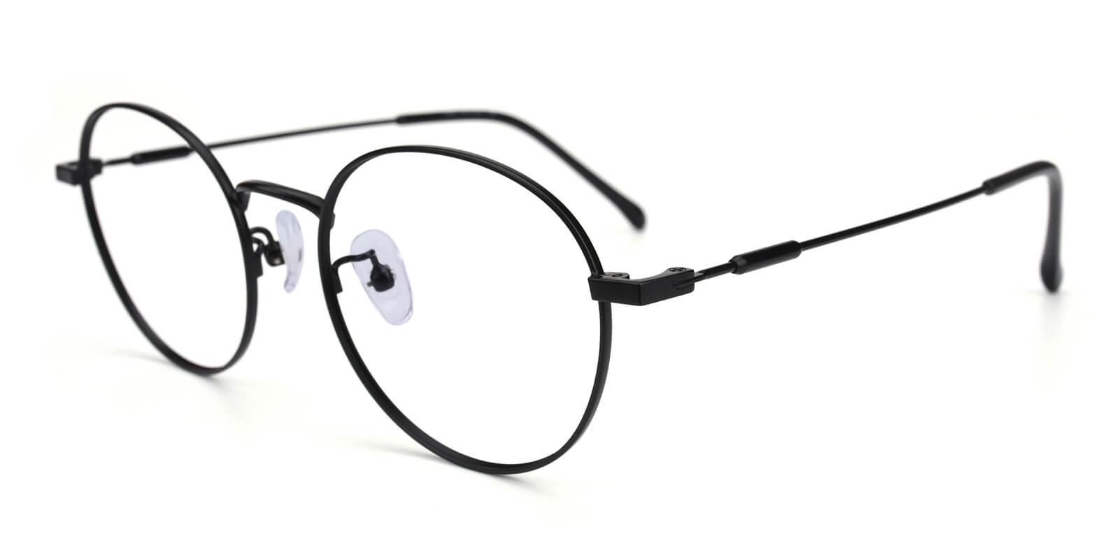 Hibbardr-Black-Round-Metal-Eyeglasses-additional1