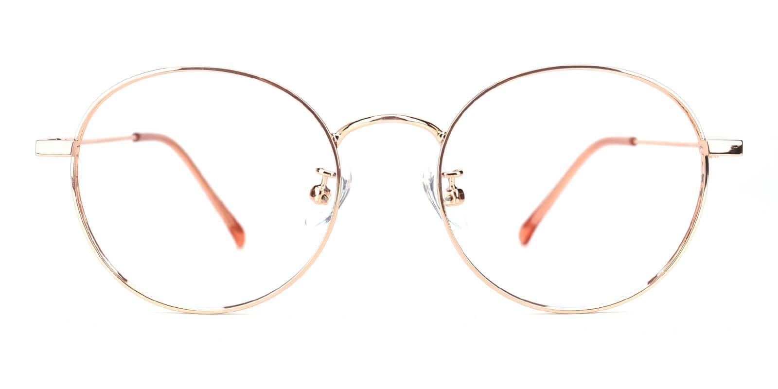 Hibbardr-Pink-Round-Metal-Eyeglasses-detail
