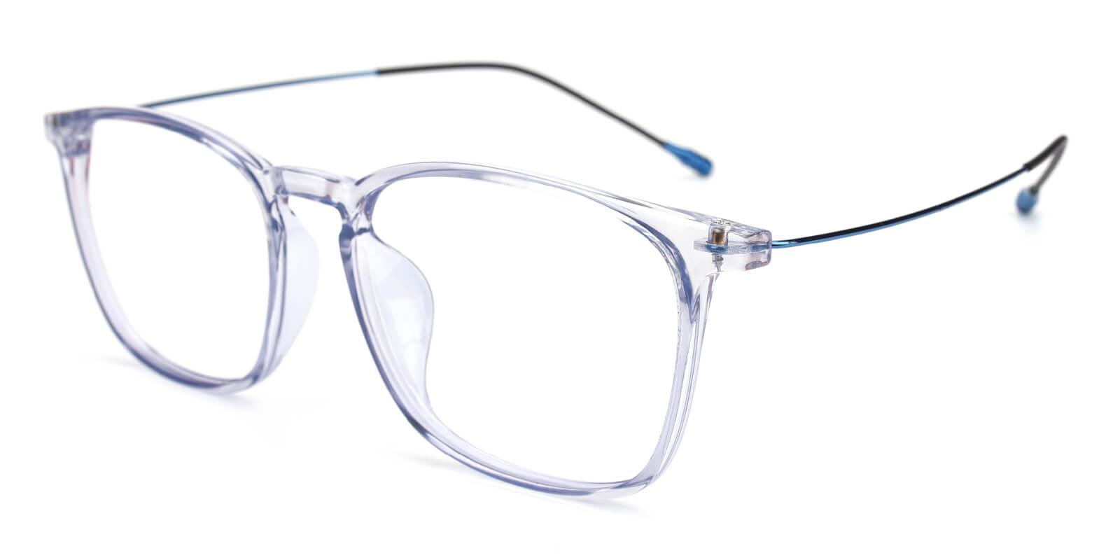 Quauetom-Blue-Square-Metal / TR-Eyeglasses-additional1