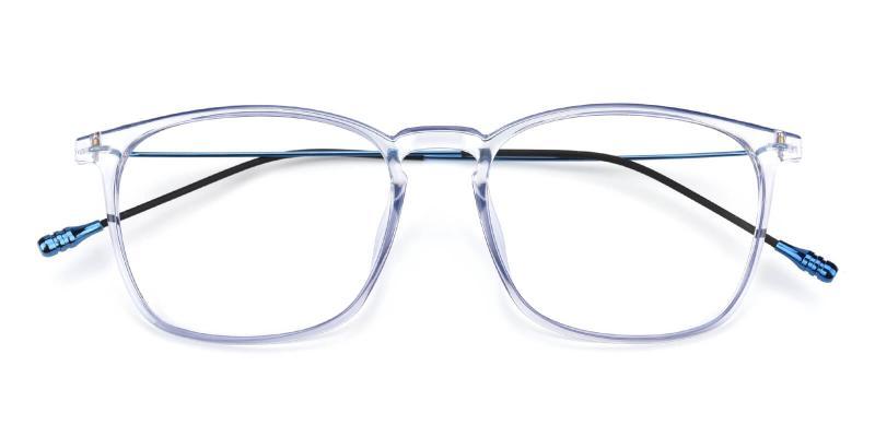 Quauetom-Blue-Eyeglasses / Fashion / Lightweight / UniversalBridgeFit