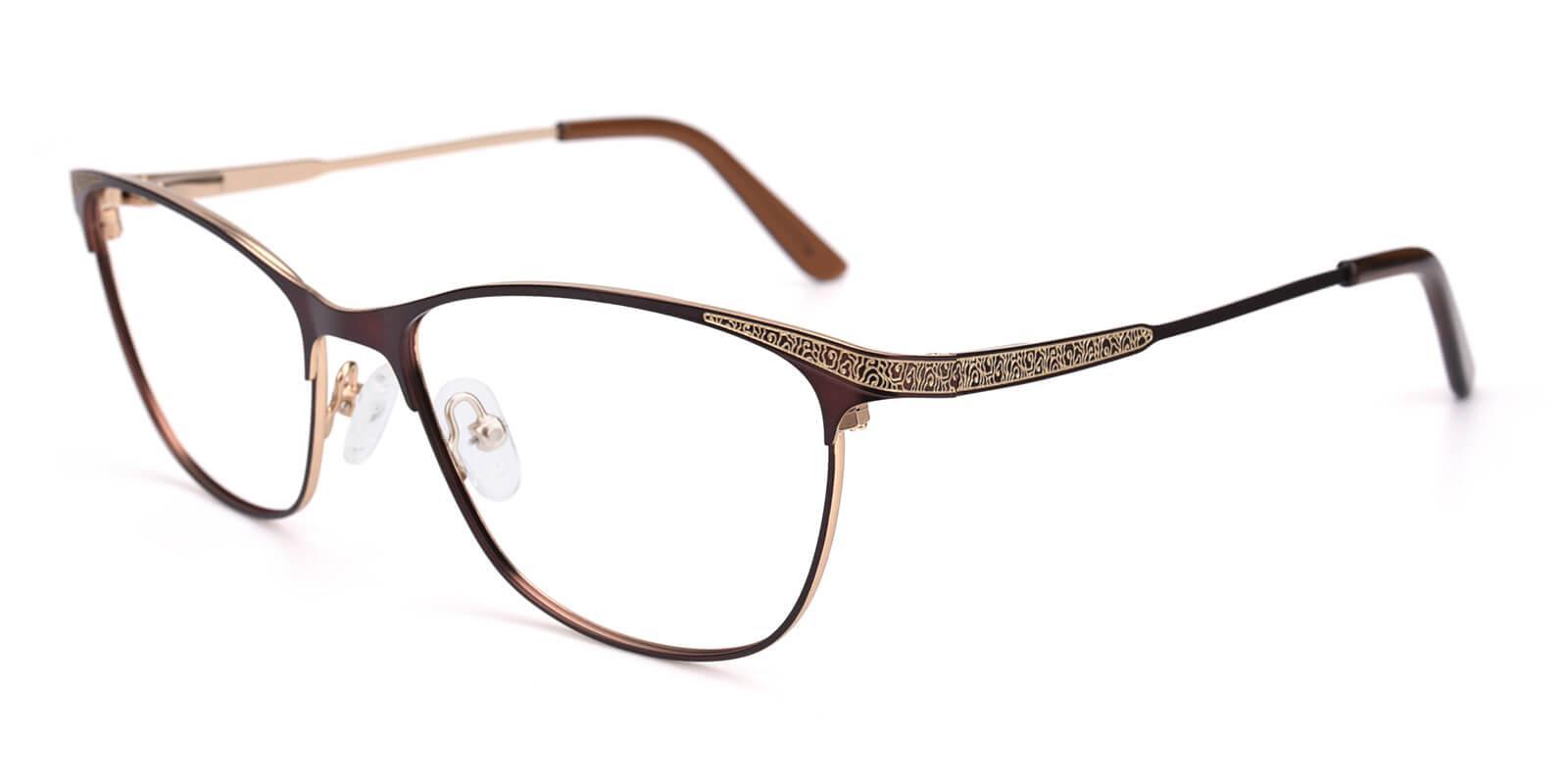 Seeta-Brown-Cat-Metal-Eyeglasses-additional1