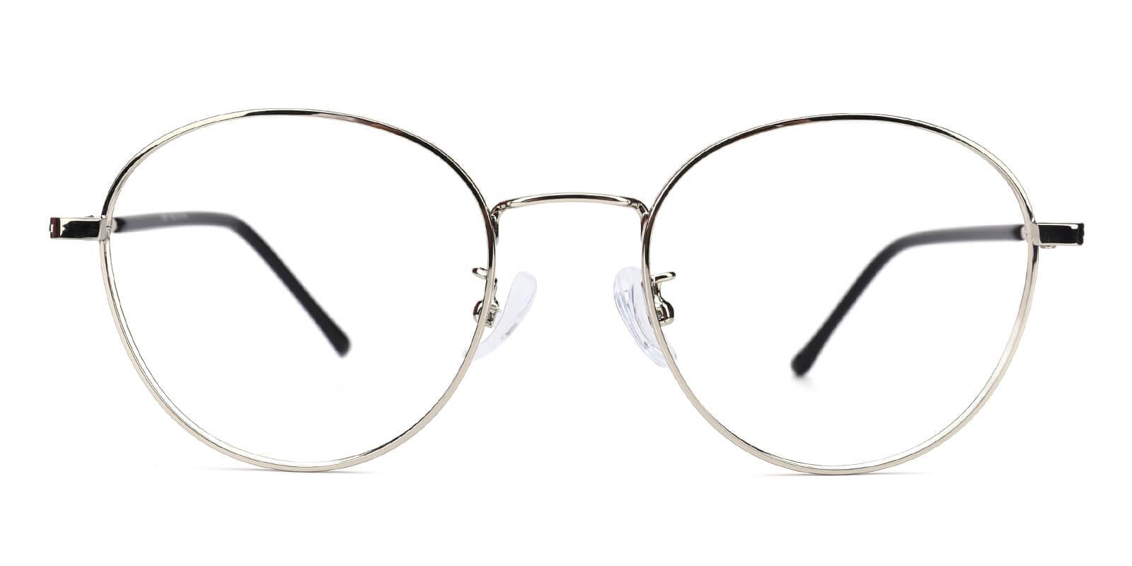 Devi-Silver-Oval-Metal-Eyeglasses-additional2