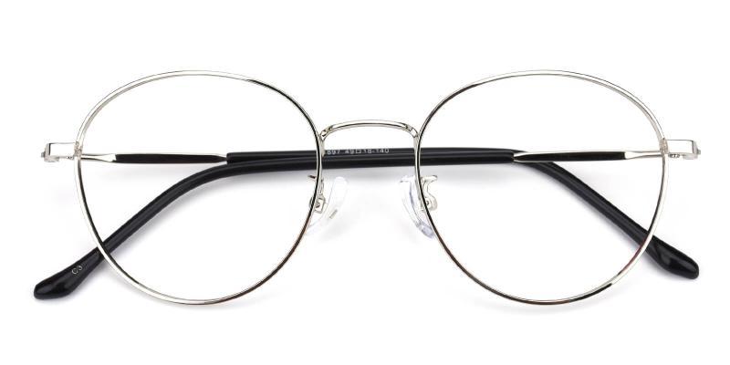 Devi-Silver-Eyeglasses