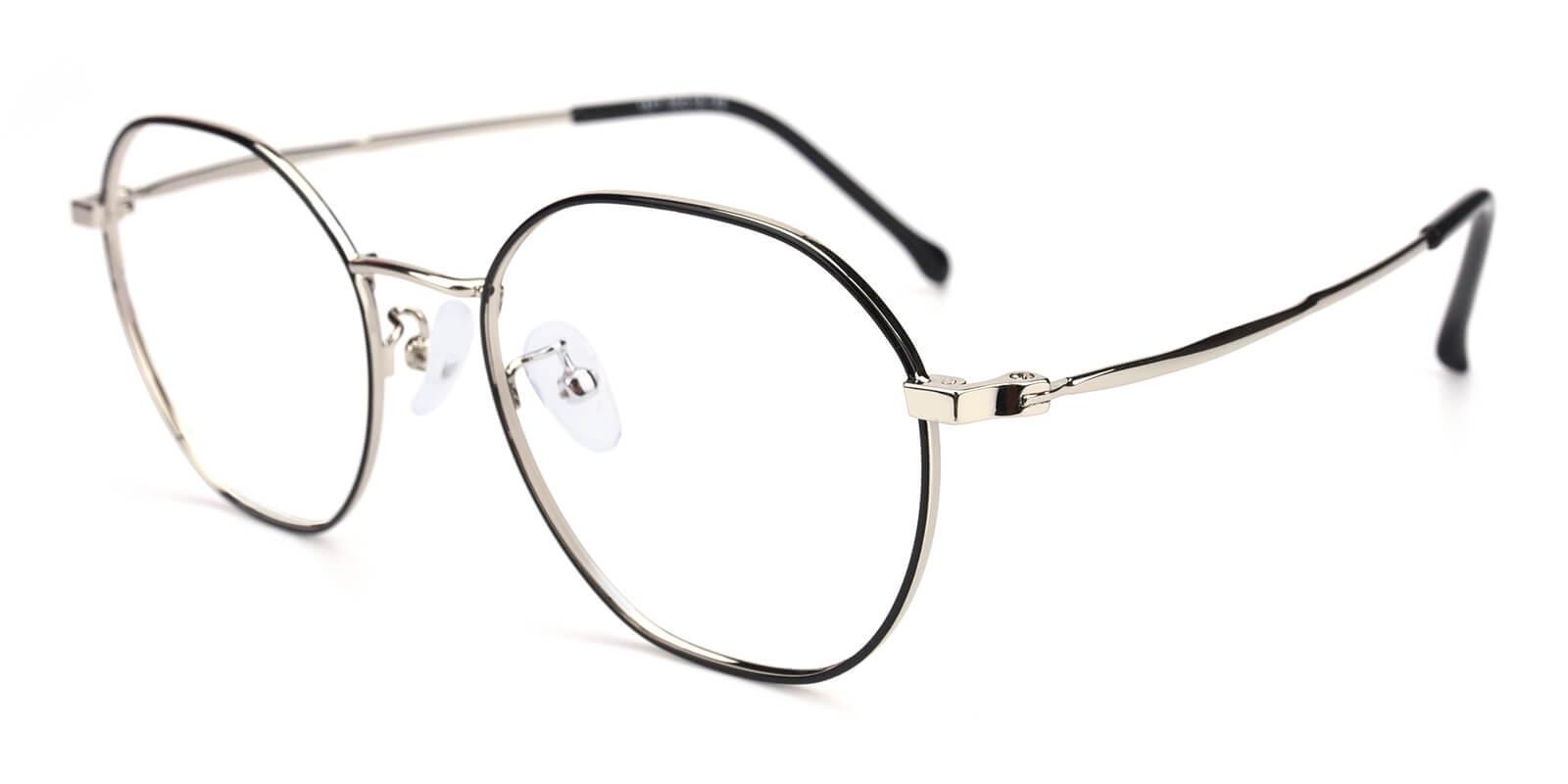 Govind-Black-Round-Metal-Eyeglasses-additional1