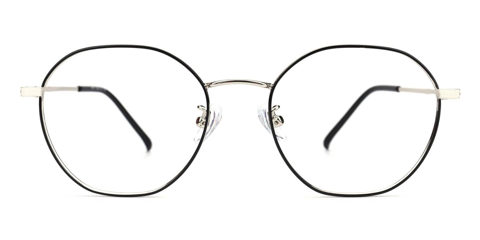 Govind-Black-Round-Metal-Eyeglasses-additional2