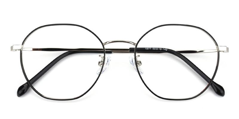 Govind-Black-Eyeglasses