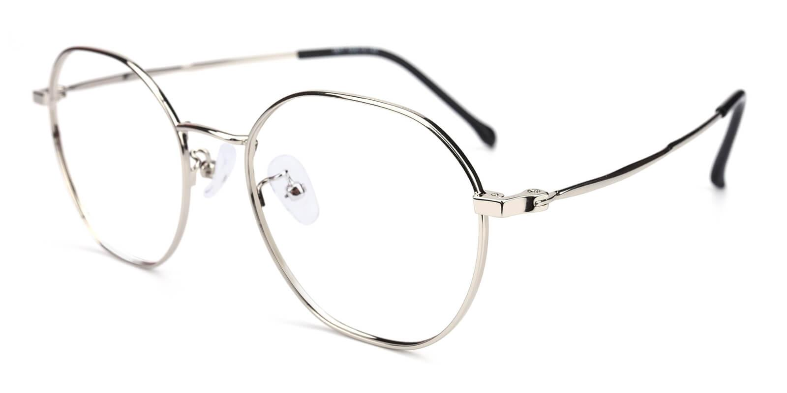 Govind-Silver-Round-Metal-Eyeglasses-additional1