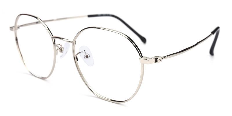 Govind-Silver-Eyeglasses
