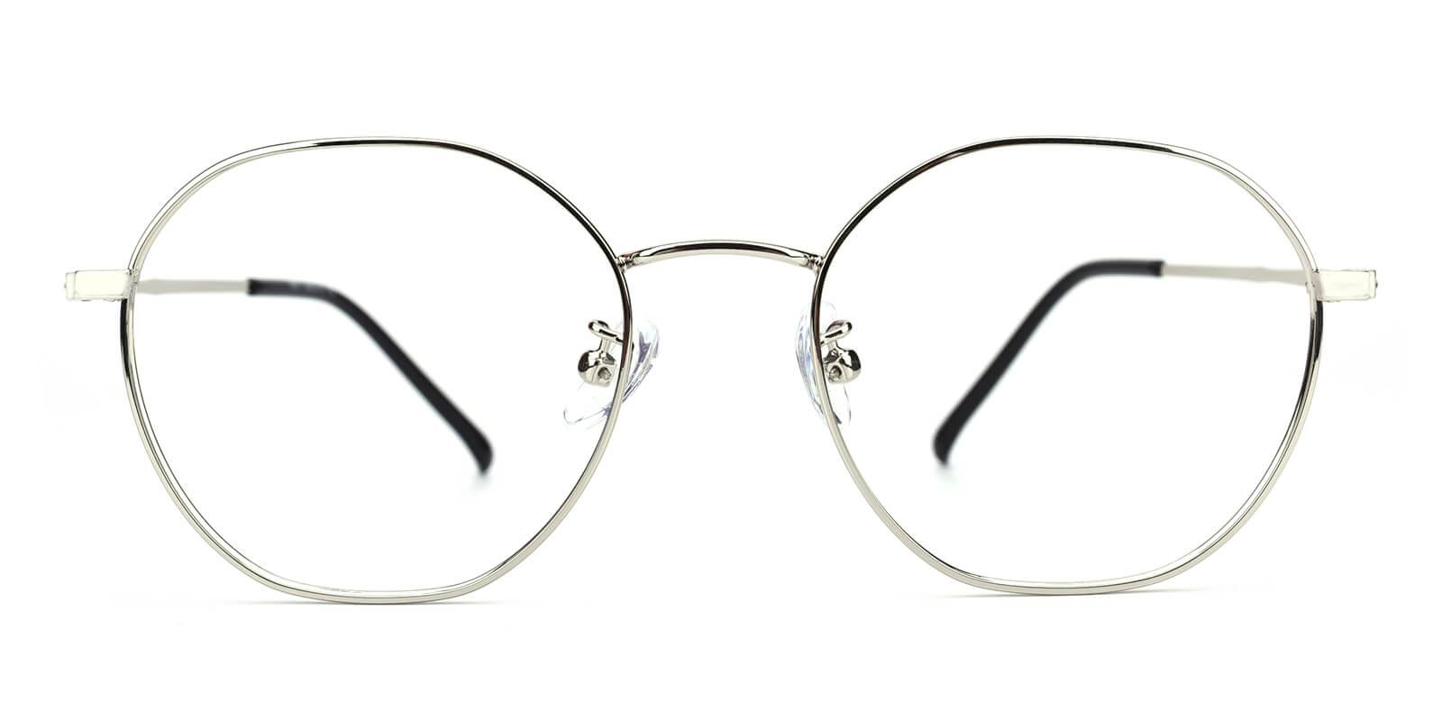 Govind-Silver-Round-Metal-Eyeglasses-additional2