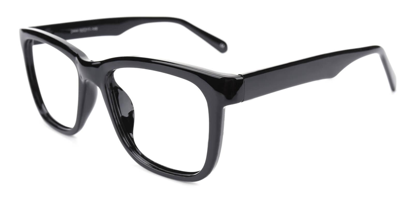 Colaan-Black-Square-Plastic-Eyeglasses-additional1