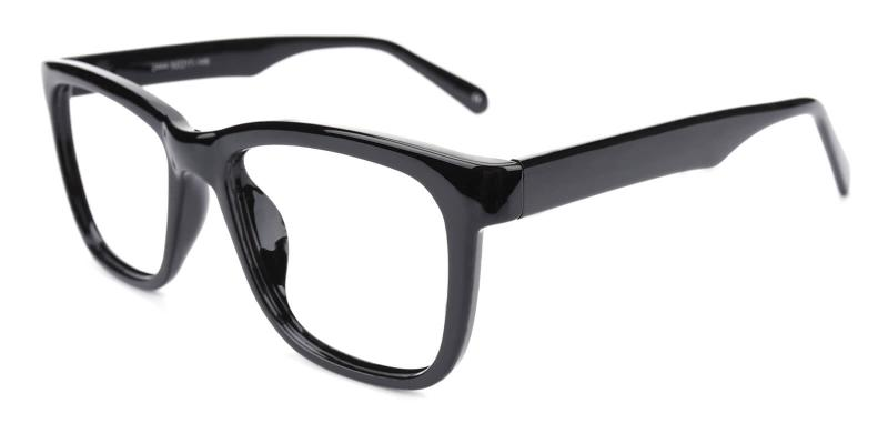 Colaan-Black-Eyeglasses