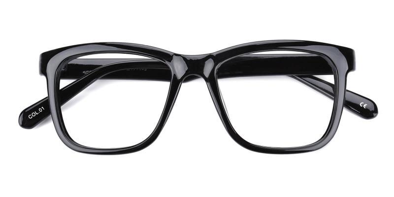 Colaan-Black-Eyeglasses