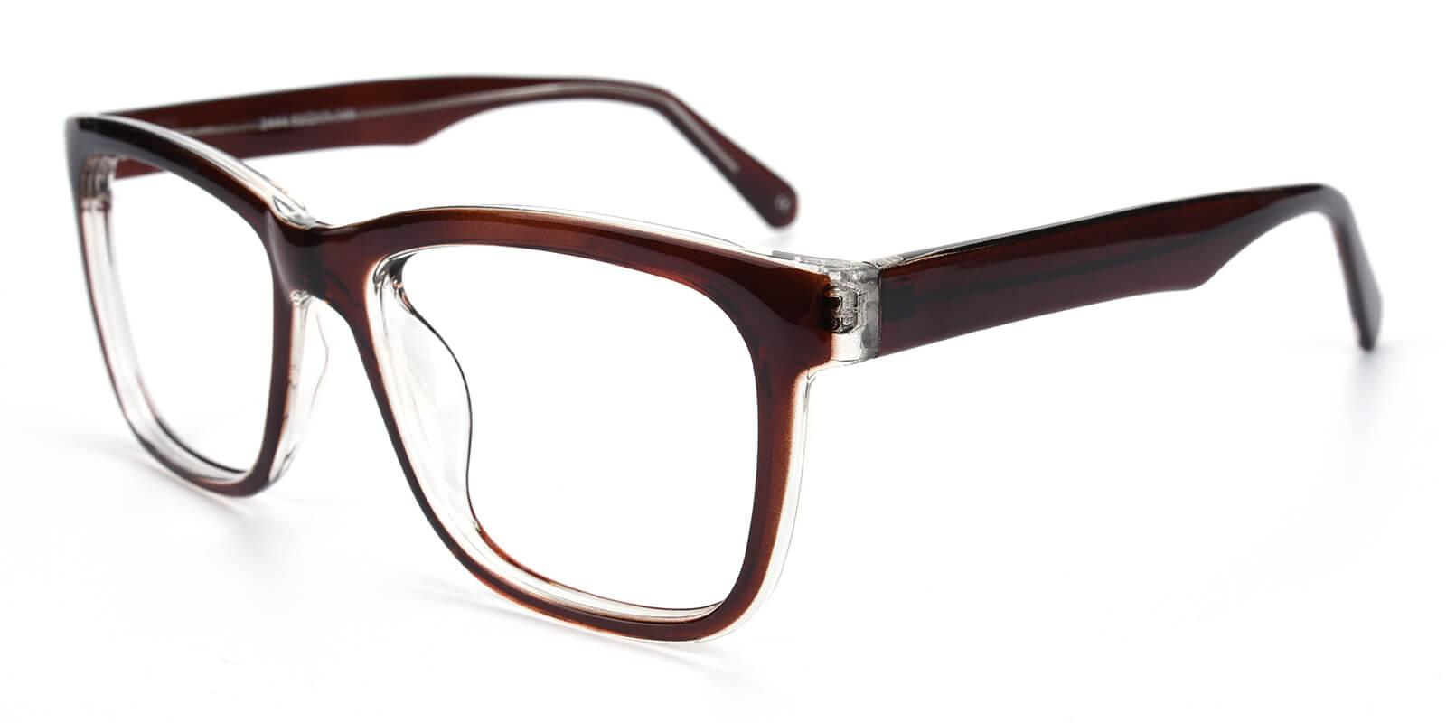 Colaan-Brown-Square-Plastic-Eyeglasses-additional1
