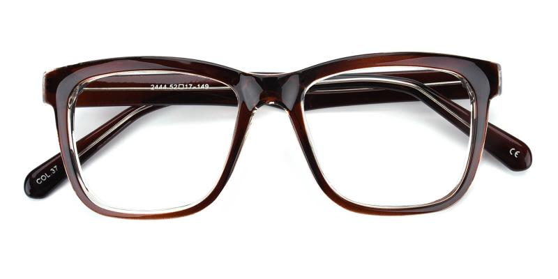 Colaan-Brown-Eyeglasses