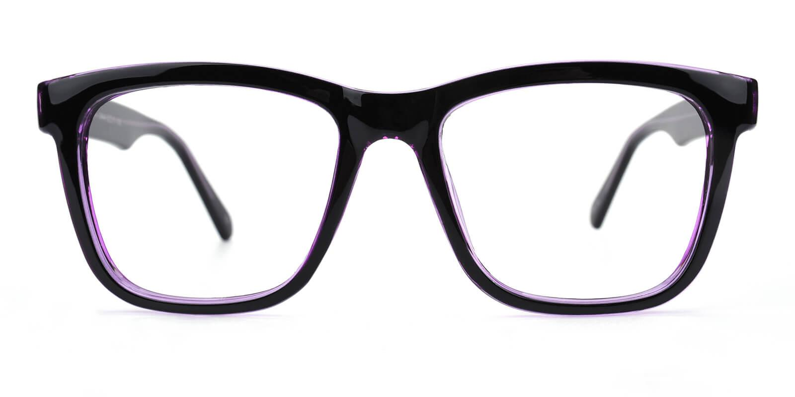 Colaan-Purple-Square-Plastic-Eyeglasses-additional2