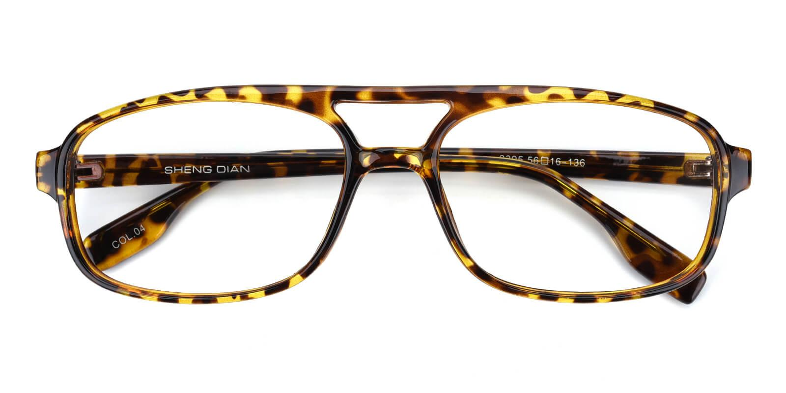 Messiany-Tortoise-Rectangle-Plastic-Eyeglasses-detail