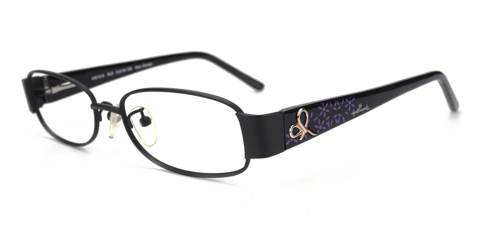 Janniey-Black-Rectangle-Metal-Eyeglasses-additional1