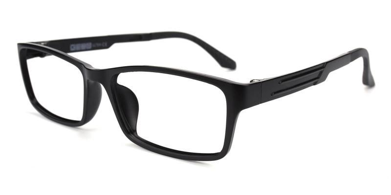 Evidina-Black-Eyeglasses / Lightweight / UniversalBridgeFit
