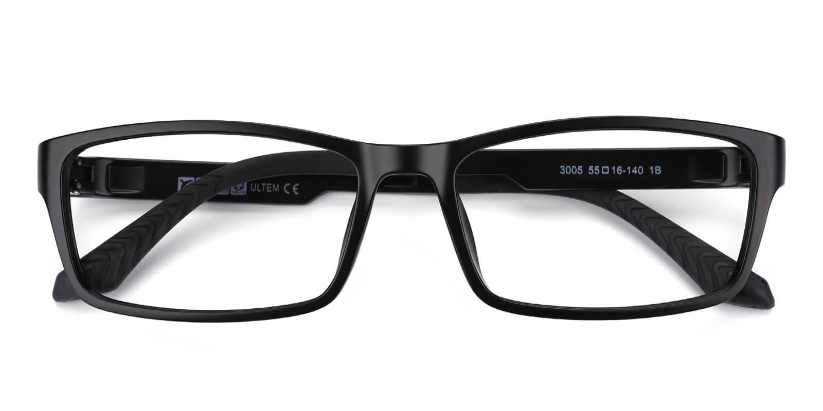 Evidina-Black-Rectangle-Plastic-Eyeglasses-detail