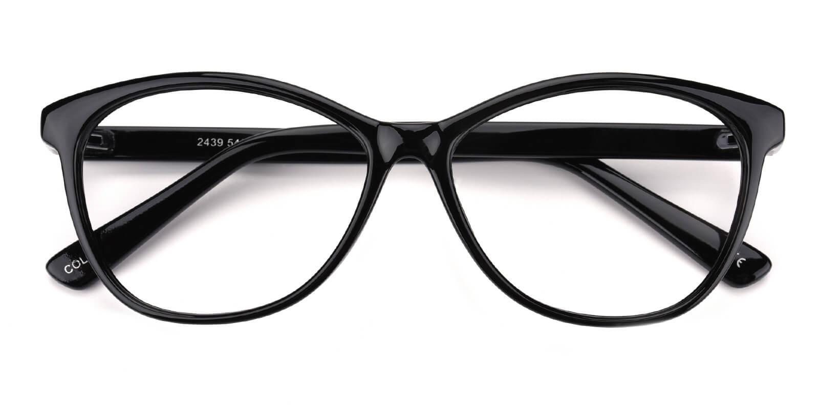 Netfertari-Black-Cat-Plastic-Eyeglasses-detail