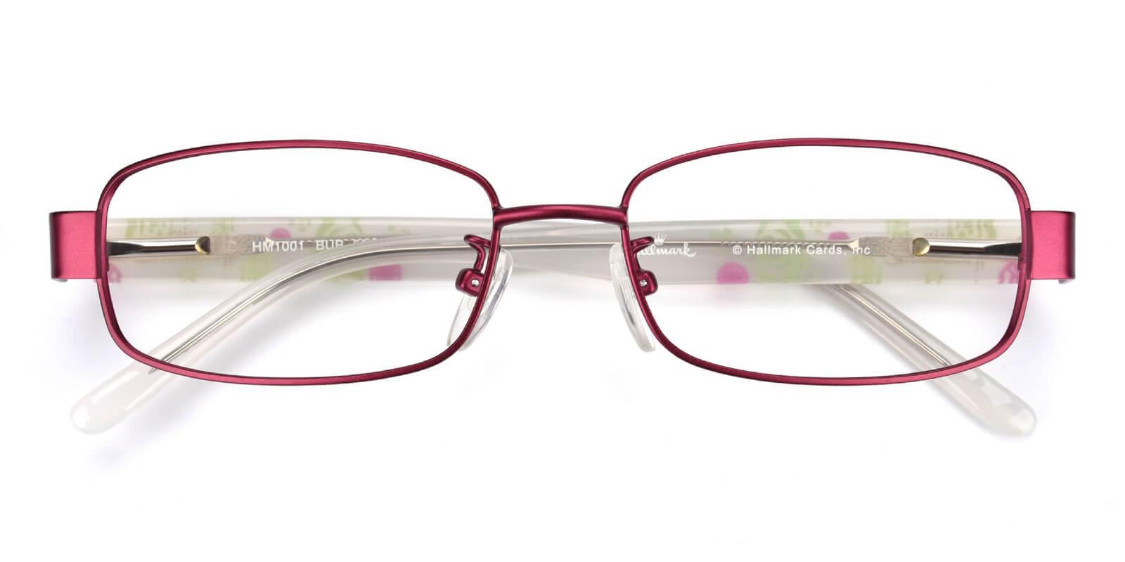 Katelley-Purple-Rectangle-Combination-Eyeglasses-detail