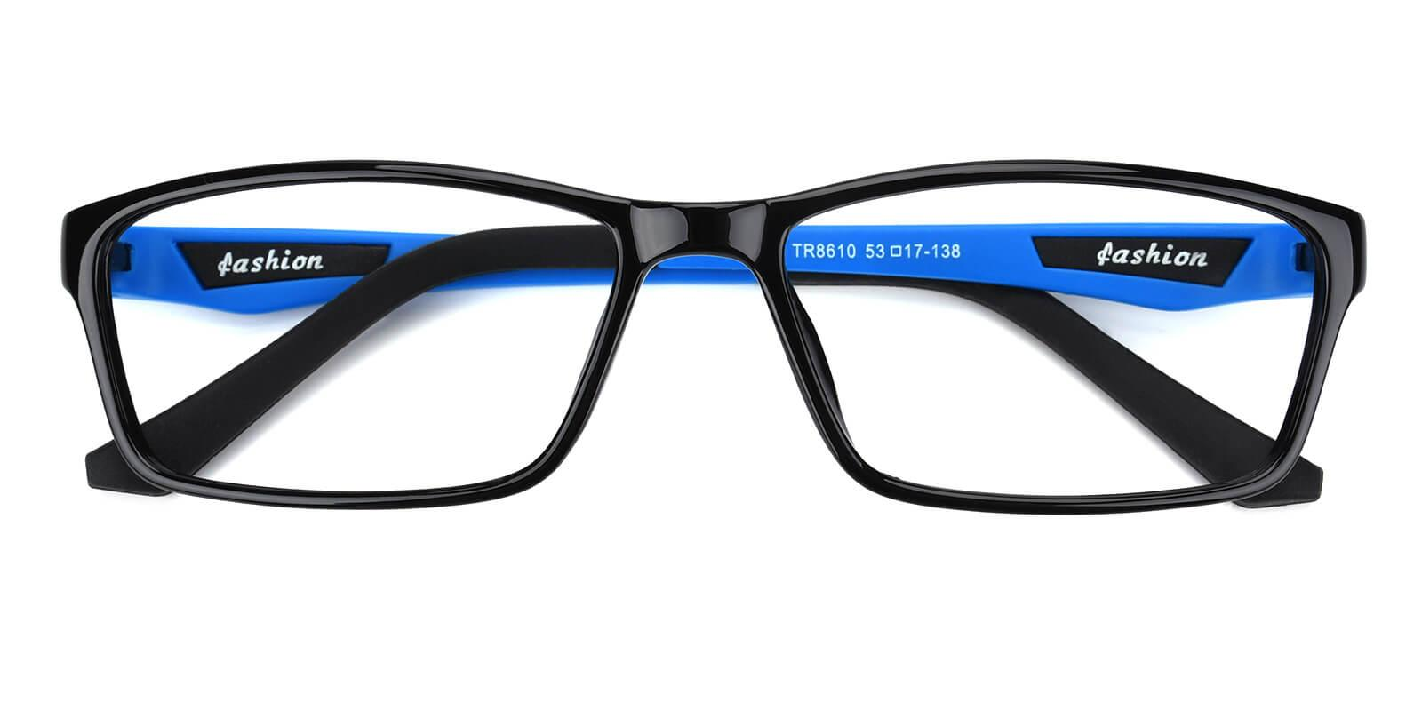 Spindan-Blue-Rectangle-TR-SportsGlasses-detail