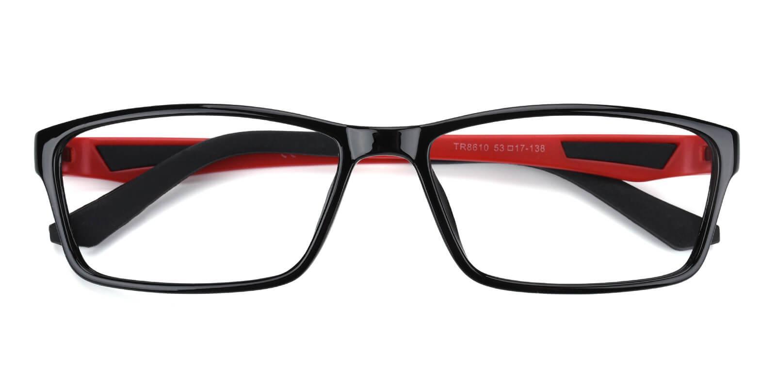 Spindan-Red-Rectangle-TR-SportsGlasses-detail